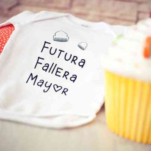 Body Bebé - Fallera Mayor Infantil